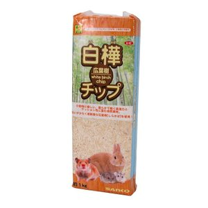 三晃商会 サンコー 白樺広葉樹チップ 1kgの商品画像