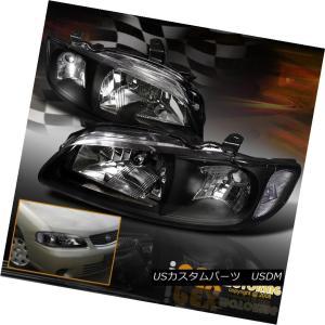 ヘッドライト For 2000 2001 2002 2003 Nissan Sentra Black...