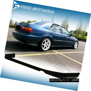 エアロパーツ FOR 92-95 HONDA CIVIC 2 4 DOOR TR REAR BUMP...