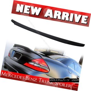 03-2011 M-Benz R230 SL500 SL55 SL63 2Dr AMG Type Trunk Spoiler Wing Carbon Fiber