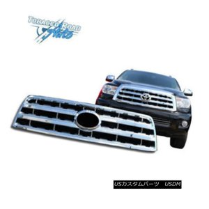 APS Compatible with 2001-2004 Toyota Sequoia Billet Grille Combo T87708A