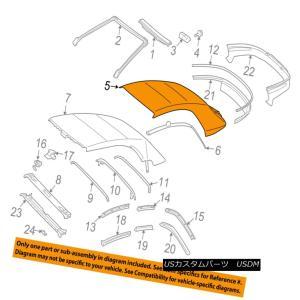 幌・ソフトトップ TOYOTA OEM 04-08 Solara Convertible/soft ...