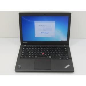 ThinkPad X240(20AMS4H700/Win7 8.1DG) レノボ Core i5-1.9GHz(4300U)/4G/500G/12.5 2014年頃購入 [Cランク] [中古]|usedpc1