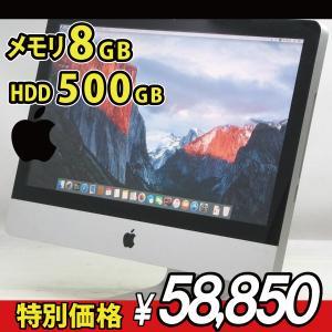 中古iMac Apple MC700J/A 21.5インチ【Core2Duo 3.06GHz/メモリ...