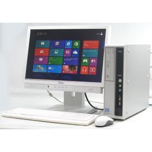中古パソコン デスクトップパソコン/YX-46 オフィス win8 19ワイド液晶NEC PC-MK29MLZDF/Core i5|usedpc|02