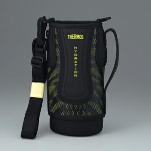 【小型宅配便(定型外郵便)対応可能】THERMOS(サーモス)真空断熱スポーツボトル FFZ-801Fハンディポーチ ブラックイエロー'4562344355421|useful-company