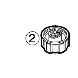 【小型宅配便(定型外郵便)対応可能】◆パナソニック Panasonic◆EH-SA60用給水タンクキャップ 部品コード:EHSA60W3187 給水タンク別売り|useful-company