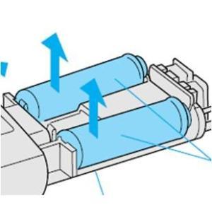 定型外郵便対応ナショナル・パナソニックのシェーバーES7043、ES-RT60、ES7115、ES7111、ES7110、ES7046、ES-RT30、ES7045、ES7961、ES7912用の蓄電池2本入り