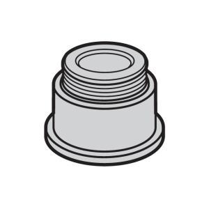 【小型宅配便(定形外郵便)対応可能】パナソニック(Panasonic) アルカリイオン整水器 泡沫水栓用つぎて(内ねじ用)(水栓:M24・ピッチ1mm)PRV-D8623G|useful-company