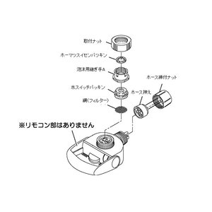 【小型宅配便(定形外郵便)対応可能】パナソニック Panasonic アルカリイオン整水器 水切替えレバー 部品コード:TK8050S7667 純正部品 useful-company