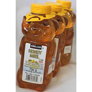 カークランド 100%カナディアンハニー(蜂蜜・はちみつ・ハチミツ)750g カナダ産ハニー (3本...