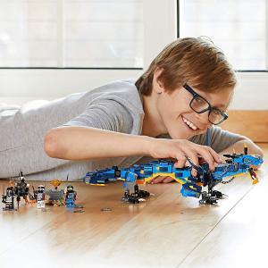 レゴ(LEGO)ニンジャゴー ジェイとイナズマ・ドラゴン 70652 ブロック おもちゃ 男の子#1...