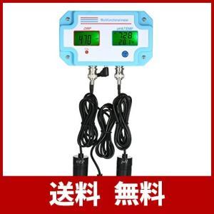KKmoon ph測定器 3 in 1 pH/ORP/TEMP 酸化還元電位計 orp 測定 ph計 水分計 ph 検査 多機能 水質測定 pH 、温 usefulforyou