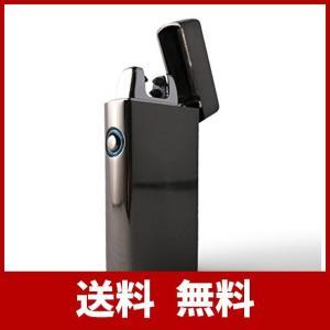 USBライター プラズマライター 電子ライター ダブルアークライター USB 充電式 ターボ ライター ガス オイル 不要 防災グッズ アウトドア ガ usefulforyou