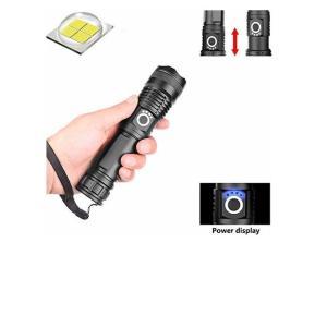 超高輝度 XHP70 LED 懐中電灯 5000ルーメン USB充電式 XHP-70四核LED 超強力 小型 懐中電灯 ズーム可能 ハンディライト l|usefulforyou