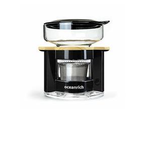 オーシャンリッチ コーヒーメーカー 自動ドリップ・コーヒーメーカー ブラック UQ-CR8200BL