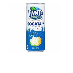 コカ・コーラ ファンタ 世界のおいしいフレーバー ソカタ 250ml 缶×12本