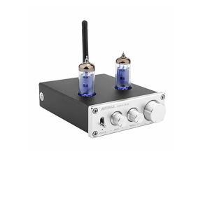 AIYIMA Bluetooth 5.0 6K4TUBE 真空管プリアンプステレオDC12V 6K4真空管プリアンプAMP高音と低音調整ホームシアター|usefulforyou