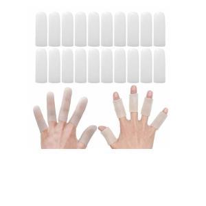 指サポーター 20個入り 手指保護キャップ 指関節サポーター ヘバーデン結節サポーター 指関節まもりん 指関節炎・突き指・バネ指に 指先・関節の保護|usefulforyou