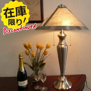 見切り品 在庫処分   テーブルランプ テーブルライト モダン シルバー メタル アイアン ランプ ライト テーブル アンティーク スタンドライト 照明 BO465TB|usf