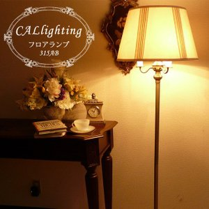 スタンドライト フロアライト モダン スタンドランプ アンティーク ランプ ライト フロアランプ フロアスタンドライト 高級 アメリカン 照明 315AB CAL lighting|usf