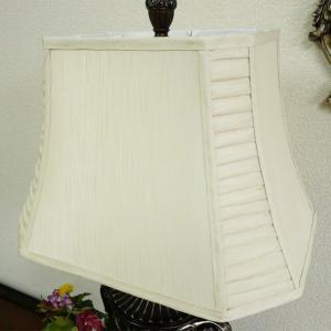 ランプシェード (傘単品) テーブルランプ シェード 白 ベージュ シルク スタンドライト フロアライト サイド テーブル ランプ ライト CAL lighting|usf