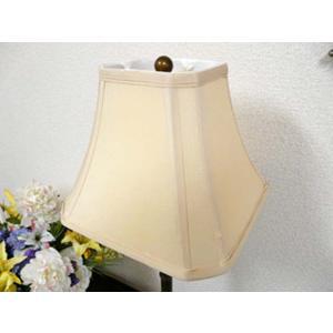 訳あり品  ランプシェード(傘単品)テーブルランプ シェード ベージュ シルク スタンドライト フロアライト サイド テーブル ランプ ライト CAL lighting|usf