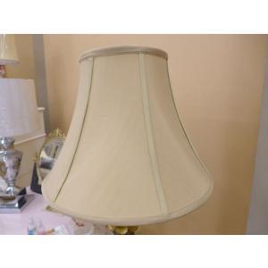 ランプシェード (傘単品) テーブルランプ シェード ベージュ 円型 丸 シルク スタンドライト フロアライト サイド テーブル ランプ ライト CAL lighting|usf