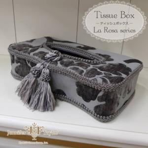 ジェニファーテイラー ティッシュケース ティッシュボックス La Rosa USAインテリア雑貨|usf