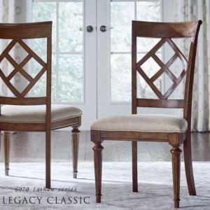 ダイニングチェア 肘無し チェア アンティーク調 高級 椅子 いす サイドチェア Legacy Latham 6070-140KD|usf