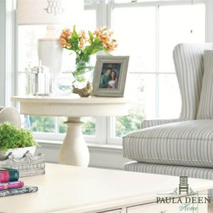サイドテーブル 丸テーブル 丸 高級 白 ホワイト  コンソールテーブル アンティーク調 丸型 デザイナー家具 PAULADEEN  見切り品 在庫処分|usf