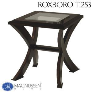 サイドテーブル ヴィンテージ アンティーク モダン クラシカル ガラス天板 ガラス アウトレット 輸入家具 エンドテーブル T1253-03TC Roxboro|usf