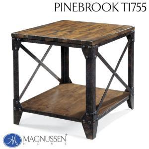 サイドテーブル アンティーク ヴィンテージ アウトレット 輸入家具 エンドテーブル T1755-03TC Pinebrook|usf