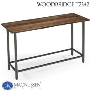 インダストリアル 机 ソファーテーブル アンティーク アウトレット 輸入家具 ソファテーブル T2342-73TC Woodbridge|usf