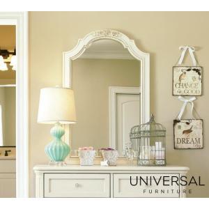 ホワイト ミラー 姫系 白 鏡 大きめ 姿見 スタンドミラー アンティーク調 姫 姫家具  白家具 高級 可愛い 姿見 化粧台 洗面所 ミラー 136A030 GaBRIeLLa|usf