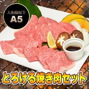 牛肉 黒毛和牛 大和榛原牛 (A5等級) とろける焼き肉セッ...
