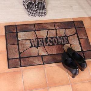 玄関マット 屋外用 おしゃれ デザインドアマット マット ドアマット 室外 家庭用 おしゃれ|ushops