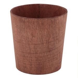 サイズ(mm) 幅110×奥行110×高さ105mm  アンティーク風仕上げの味わいのあるゴミ箱。 ...