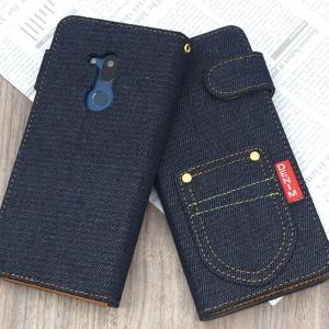 Android One X5 手帳 ケース カバー softbank Ymobile LG アンドロイドワンx5 手帳型ケース スマホカバー おしゃれ ジーパン デニムデザイン ushops