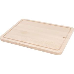 清潔感を感じるオシャレなまな板です。  全体:幅31×奥行23×高さ1.6cm 素材 ビーチ[無塗装...