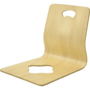 座椅子 座イス こたつ あぐら 旅館 背もたれ 曲木座椅子 和室|ushops