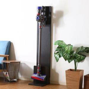 クリーナースタンド ラック 掃除機掛け 収納 掃除機収納 ブラウン 収納家具 棚 掃除機たて|ushops