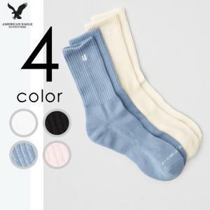 アメリカンイーグル メンズ 靴下 ハイソックス 2足セット usj-mens