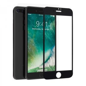 iPhone 7 Plus 専用 Glossy 3D曲面 強化ガラスフィルム ラウンドエッジ加工 HANATORA|uskey