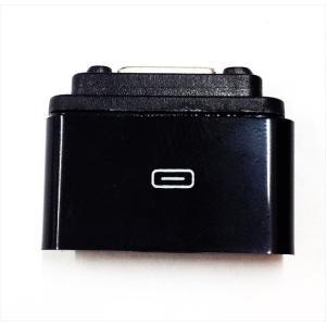 Xperia Z1 / Z1f 用 MicroUSB→マグネット充電 変換アダプタ ブラック|uskey