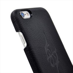 iPhone 6s/6 対応 本革 姫路レザー 牛革 ハードケース Majesty シュリンク加工 保護フィルム付き HANATORA|uskey