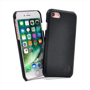 iPhone 8/iPhone 7 対応 本革 姫路レザー 牛革 ハードケース Majesty シュリンク加工 保護フィルム付き HANATORA|uskey