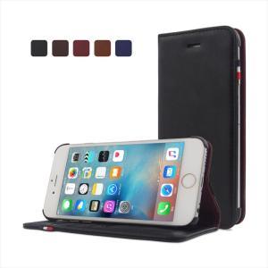 iPhone6s/6 対応 手帳型ケース PUレザー  落下防止 液晶保護フィルム スタンド 横置き Classic HANATORA|uskey