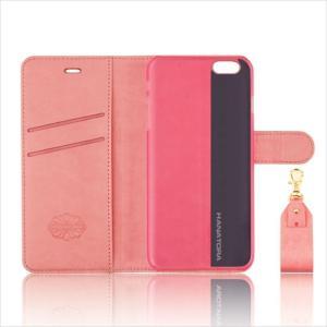 iPhone 6S/6 対応 手帳型ケース PUレザー 8カラー 多機能 リーズナブル 高級感 落下防止ストラップ付き HANATORA|uskey