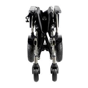 折り畳み電動車椅子、経済的+軽量 ヘットレスト付き Foldawheelシリーズ PW-777PL|usmtekuno|04